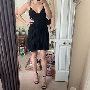 2/$25 Black Pleated Dress